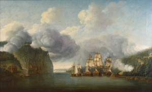 The Battle for Fort Washington, Fall 1776.
