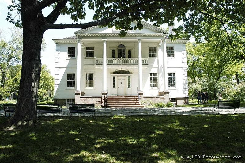 Morris Jumel Mansion.